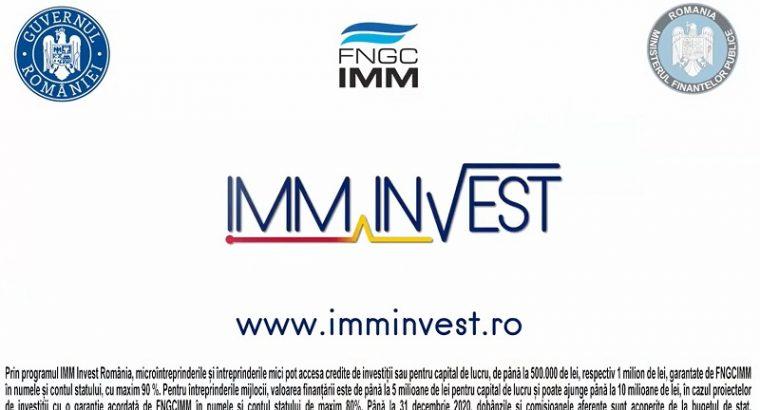 Finanțare afaceri în 2021 prin IMM Invest